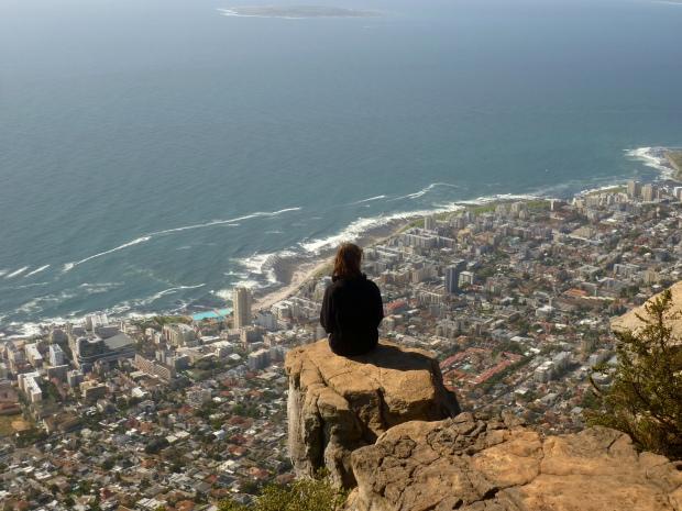 Blick vom Lions Head über den Stadtteil Sea Point