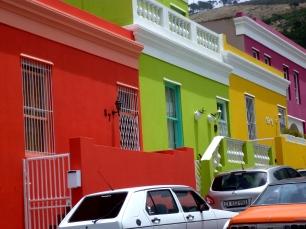 Die bunten Häuser Bo Kaaps