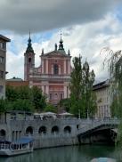Wahrzeichen Ljubljanas, Slowenien